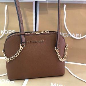 Michael Kors Cindy Crossbody Handbag Purse MK Bag